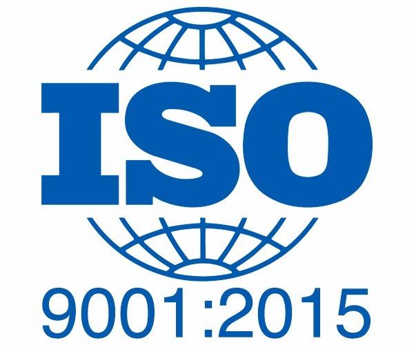 Selo norma ISO 9001:2015